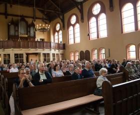 Die Kirche war gut besucht